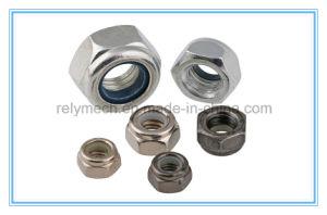 Carbon Steel Nylon Insert Hex Nut/Lock Nut pictures & photos