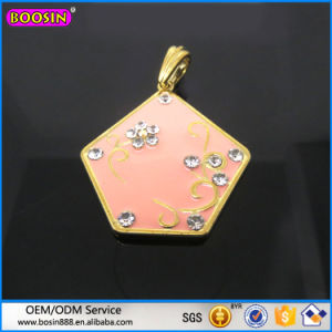 High Quality Enamel Flower Pendant for Necklace Wholesale pictures & photos