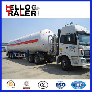 China Made 55.6 M3 Cryogenic LNG Semitrailer pictures & photos
