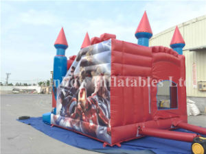 Hot Sale Inflatable Avengers Theme Bouncy Castle for Kids pictures & photos