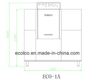 Eco-1A Automatic Conveyor Dishwasher pictures & photos