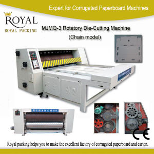 Mjmq-3 Rotatory Die-Cutting Machine (Chain model) pictures & photos