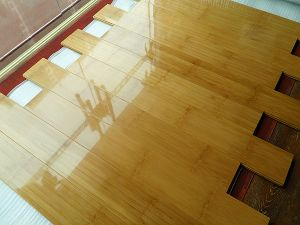 C&L High Glossing Low Price Solid Bamboo Flooring