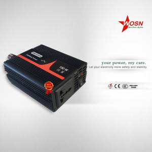 2016 Wosn Single Phase DC AC off Grid Power Inverter 150W Pure Sine Wave Power Inverter