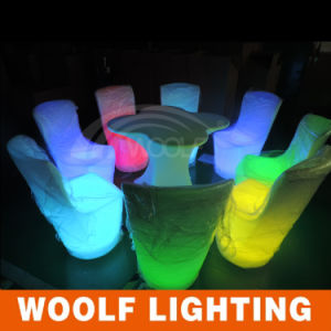 Pub Bar Stool Chair/LED Illuminated Stool/Luminous LED Chairs pictures & photos
