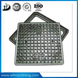 Ductile Iron Foundry Square Manhole Cover/Cast Iron Frame and Cover pictures & photos