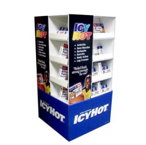 Wholesale Printed Cardboard Promotional Pallet Counter Display Box 48 pictures & photos