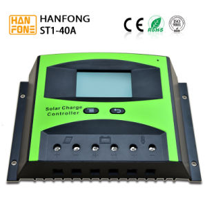 12V/24V Intelligent Solar Charge Controller for Solar Panel System 40A (ST1-40A) pictures & photos