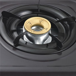 Portable Gas Stove with Two Burner Non Stick Gas Cooker Jp-Gc206ts pictures & photos