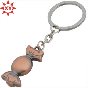 Custom Design Cute Metal Candy Keychain pictures & photos