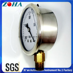 Psi Mini Gauge with Oil Filled and with Material of Ss Case pictures & photos