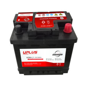AGM-L1 12V 50ah Factory Price Wholesale AGM Start-Stop Car Battery pictures & photos