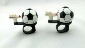 Soccer Shape Promotion Aluminium Bicycle Bell pictures & photos