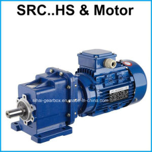 Output Shaft Wiht Helical Gear Motor Gearbox pictures & photos