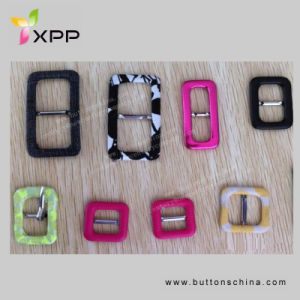 Fashion Colorful Fabric Covered Buckle for Garment, Bag, Shoes pictures & photos