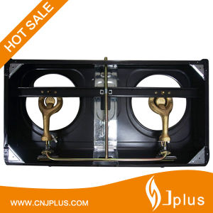 2 Burner Gas Stove Gas Cooker for Kitchen Equipment in Rwanda Jp-Gc206t pictures & photos