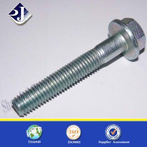 Made in China Good Quality Zinc Finished Hex Flange Bolt pictures & photos