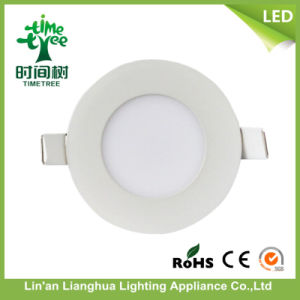 3W 6W 9W 12W 15W 18W 20W 24W Slim Type Round / Square LED Panel Light pictures & photos