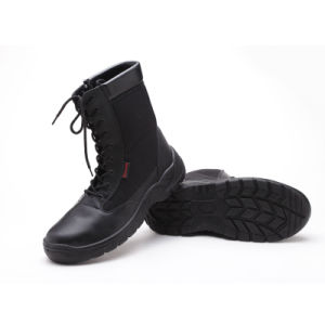 Popular Industrial Working Leather/PU Safety Shoes pictures & photos