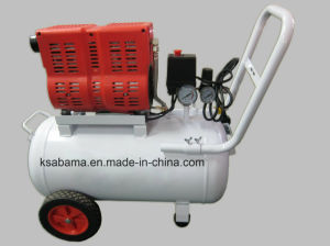 Tat-1030 1.0HP 30L Portable Oil Free Silent Air Compressor pictures & photos