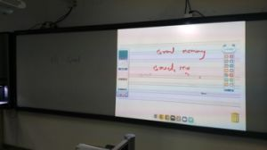 160inches Infrared Interactive Whiteboard, 4 Color Options, pictures & photos