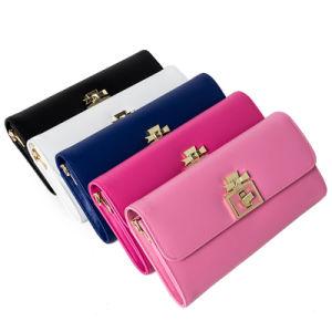 Newest Fashion Women Leather Wallet /Purse (ZC0008) pictures & photos