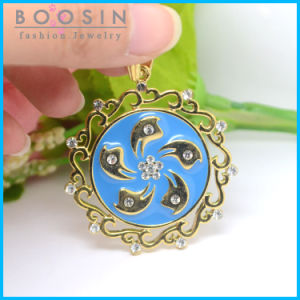 Hongkong Bauhinia Flag Gold Plated Necklace Pendant Wholoesale #14600 pictures & photos