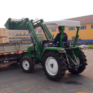 Tractor with Front End Loader for Loading Goods pictures & photos
