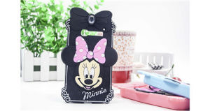Minnie Mickey Cartoon Silicone Cell Phone Case for iPhone 6 6plus 7 7plus (XSDN-045) pictures & photos