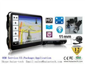 "Cheap 5.0"" Car Portable GPS Navigation with Tmc Bluetooth AV-in ISDB-T TV pictures & photos"