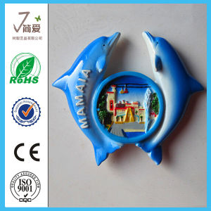 Custom Whale Polyresin Fridge Magnet for Tourist Souvenir pictures & photos