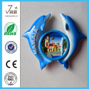 Custom Whale Polyresin Fridge Magnet for Tourist Souvenir pictures & photos