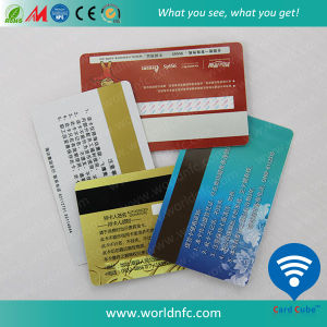 Cmyk Offset Printed Plastic Gift Card with Magnetic Strip pictures & photos