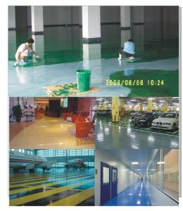 Maydos 2k Non-Solvent Diamond Hardness Dust Proof Epoxy Resin Car Parking Floor Paint pictures & photos