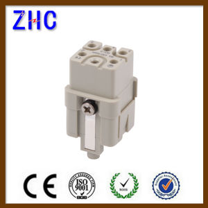 Hq Series 5 Pin Contacts Male and Female Heavy Duty Connector pictures & photos