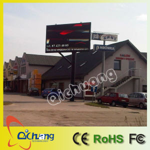 Outdoor Full Color Commercial LED Sign pictures & photos