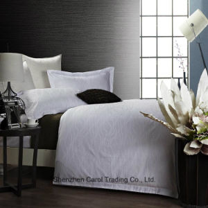 100% Cotton Water Ripple Pattern Hotel Bed Linen pictures & photos