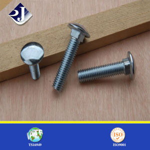 Round Head DIN603 Galvanized Carriage Bolt pictures & photos