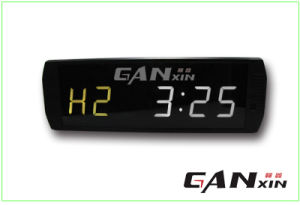 "[Ganxin] 3"" Mini LED Light Display Countdown Digital Fitness LED Clock pictures & photos"