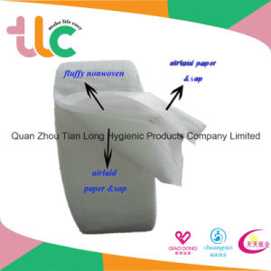 Sap Airlaid Absorbent Paper for Baby Diaper with Factory Wholesale pictures & photos