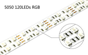 Two-Year Warranty SMD 5050 120LEDs/M DC12V 24V LED Strip RGB pictures & photos