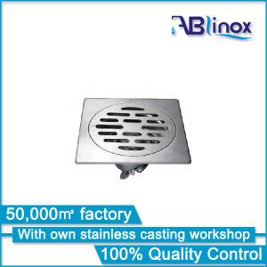 Great Customize 100*100mm Inox Shower Floor Drain pictures & photos