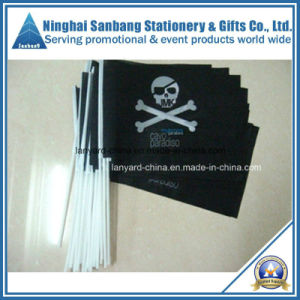 Promotion Polyester Hand Flag with Custom Logo