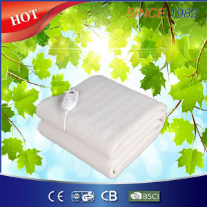 Comfortable Synthetic Wool Electric Blanket with Four Heat Setting pictures & photos
