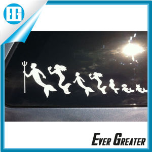 Four Color White Die Cut Car Vinyl Decals ISO/Ts16949 Certified pictures & photos