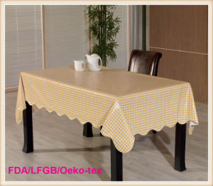 PVC Table Clothes /Plastic Table Cover pictures & photos