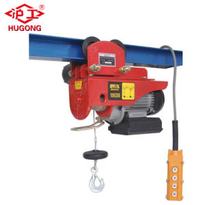 Wireless Remote Electric Cable Hoist Mini Wire Rope Elevator Machine pictures & photos