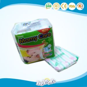 2017 New Disposable Baby Diaper with PE Film pictures & photos