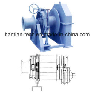 50kn Hydraulic Mooring Winch Approval by Solas (HTHMW50) pictures & photos