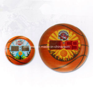 Novelty Electronic Basketball Pattern Frame LED Digital Wall Time Gift Clock pictures & photos
